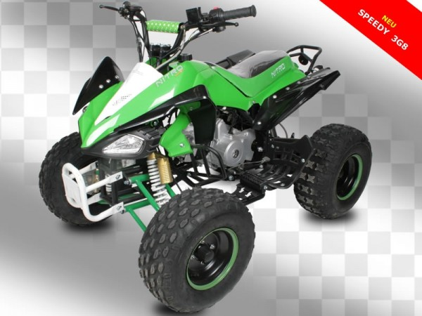 Quad 125ccm SPEEDY 8 Zoll Räder