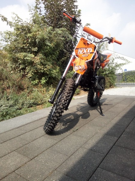125cc Crossbike Dirtbike NXD 17/14 Zoll Automatik
