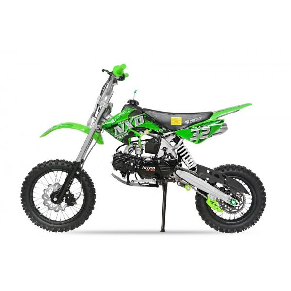 Nitro Motors 125cc NXD Prime Dirtbike M14 | 14/12 | 4-Gang Manuell