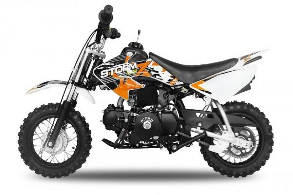 Crossbike 70ccm 4 Takter mit Elektrostarter