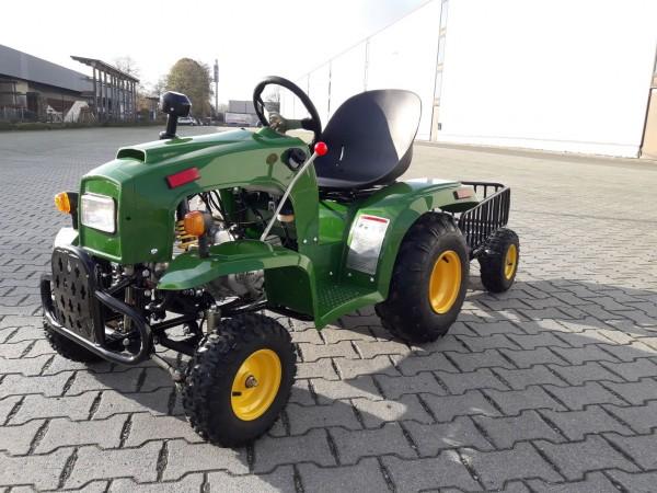 Traktor 110 cc mit Anhänger