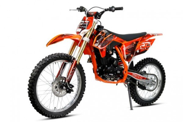 250cc Tornado Dirtbike 21/18 Zoll 5-Gang Manuell