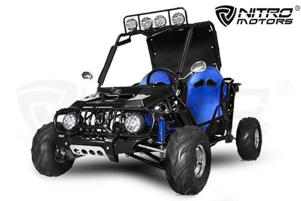Kinder Buggy 125cc AUTOMATIK