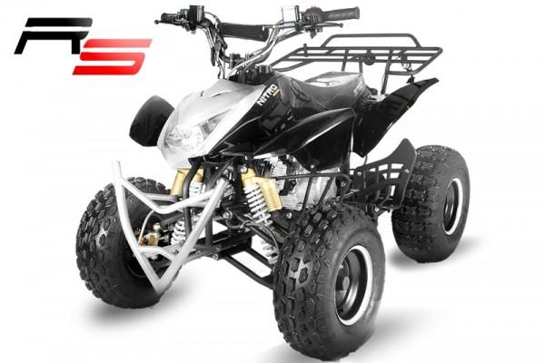 Quad 125cc JUMPER RS hydraulische Bremsen-8 Zoll Räder, Elektro-Starter