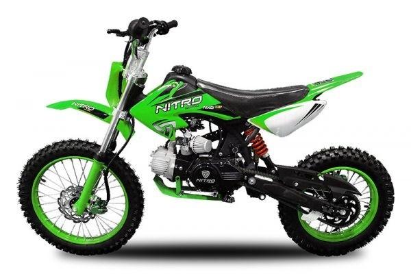 Dirtbike Crossbike 125ccm Automatik+Elektro Starter