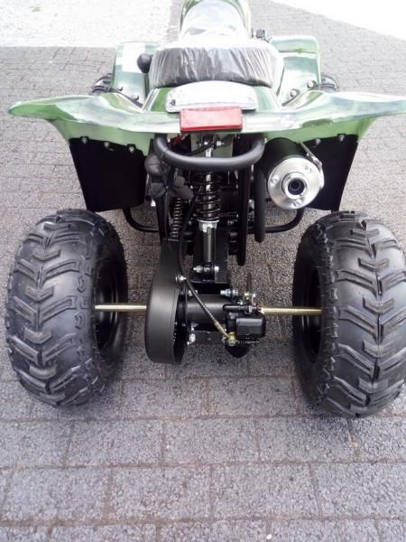 Quad 125cc ATV, 7 Zoll