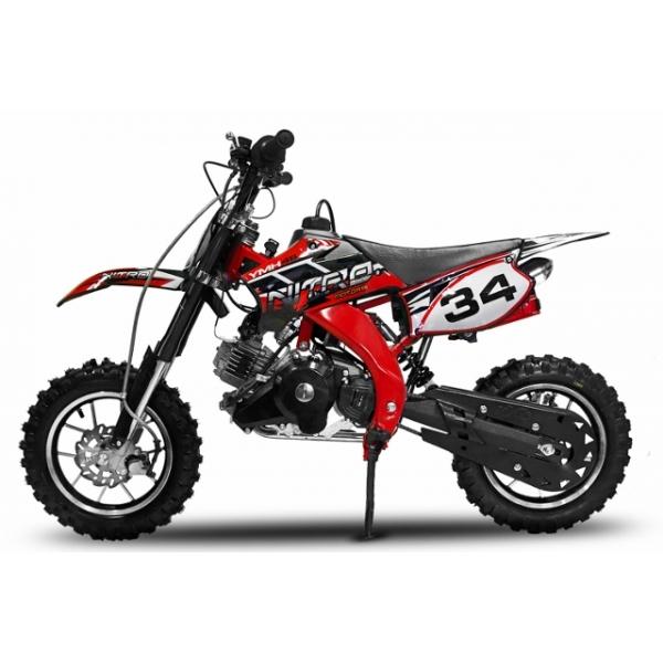 Crossbike 4 Takt Motor mit E-Starter