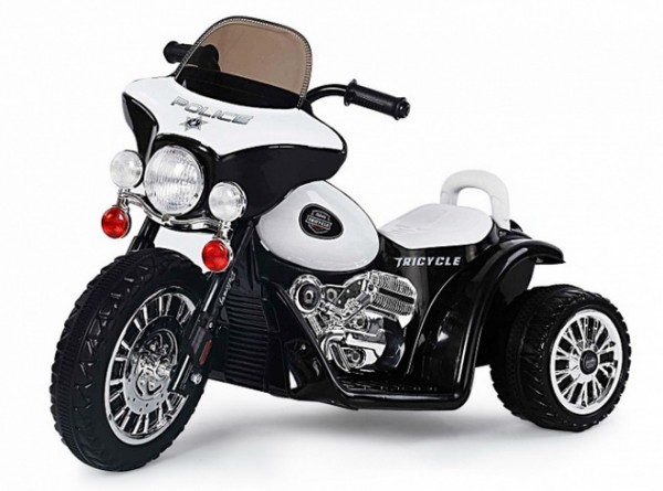 Elektro Kinder Motorrad POLICE
