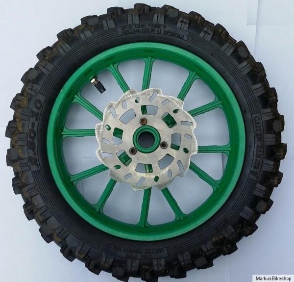 Radsatz Crossbike Reifen Komplett Radsatz für Crossbike 10 Zoll