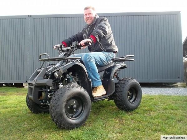 "Quad 125cc TORONTO ""RS"" 8 Zoll Scheibenbremsen mit Automatik"