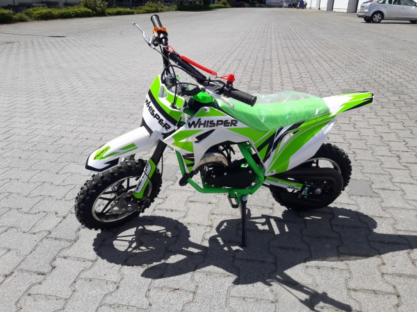 Crossbike Whisper 49cc 10 Zoll