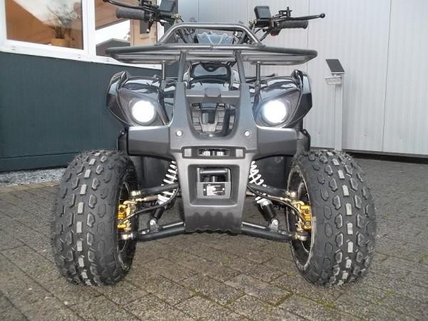 """KXD Quad 125ccm HUMMER 8"""" 3G+RG mit hydraulischen Scheibenbremsen"""