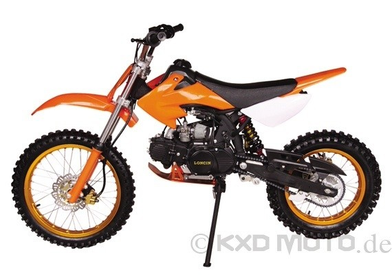 125 Crossbike Dirtbike Pitbike Kinder Enduro 17/14