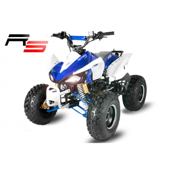 Quad SPEEDY 125cc 8 Zoll Automatik RS hydraulische Scheibenbremsen vorne und hinten