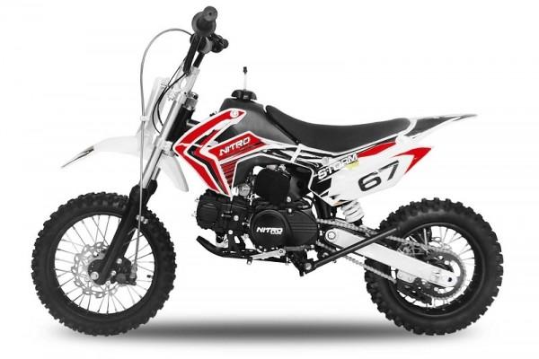 Dirtbike STORM 14/12 4 Gang-Kickstarter