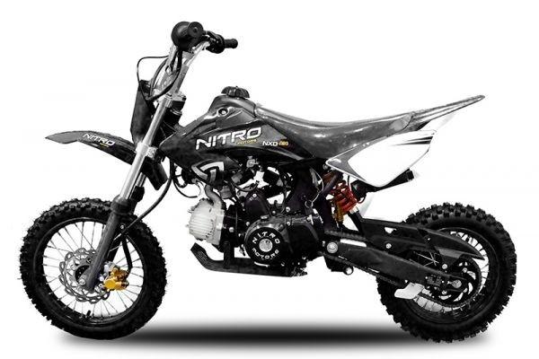 Dirtbike Crossbike 14/12 Automatik + Elektrostarter
