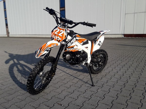 Dirtbike PRO Kickstarter 125ccm