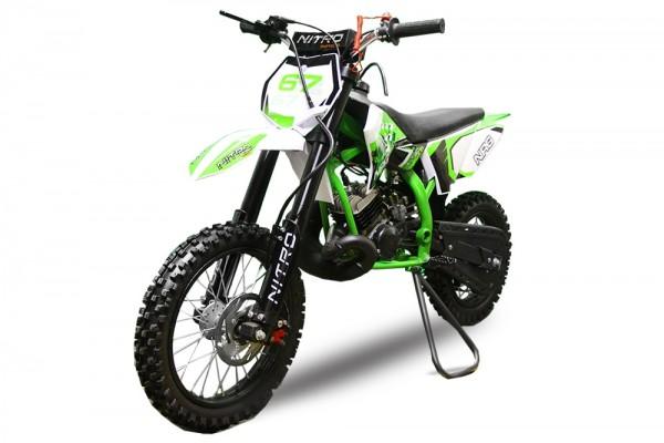 NRG 50 Dirtbike 14/12 hydraulische Scheibenbremsen