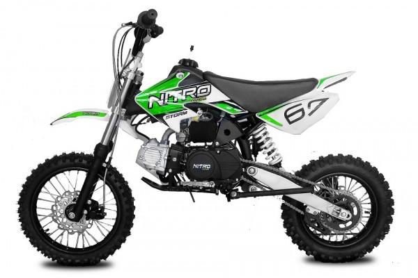 Dirtbike STORM 14/12 110 ccm 4 Gang Schaltung