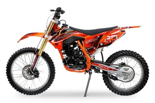Voll-Cross Motorrad Enduro 250ccm