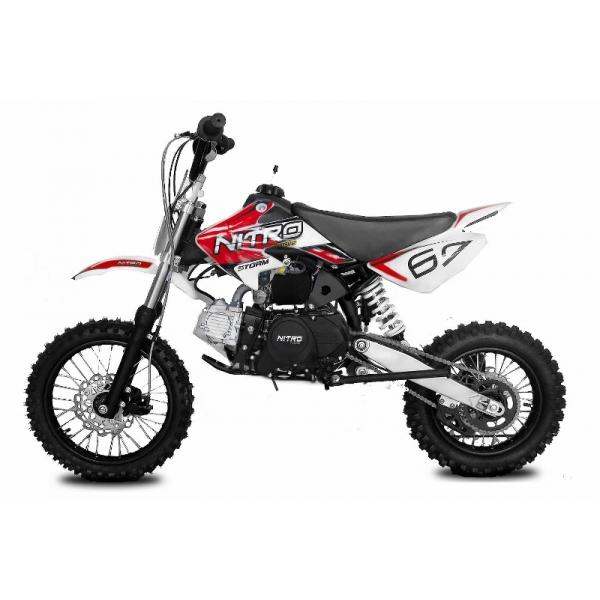 Dirtbike STORM 110 ccm Automatik E-Starter
