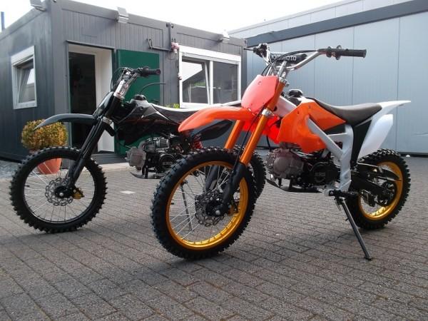 Dirtbike 612 PRO CROSSBIKE Enduro VOLLCROSS 125ccm