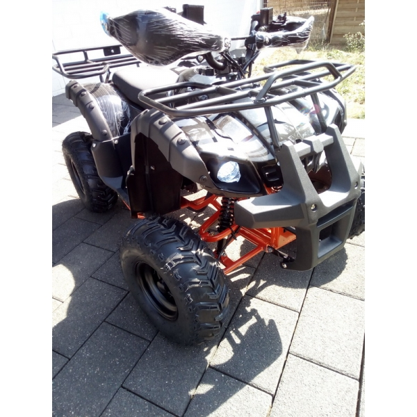 125cc Toronto 3G8 RS Jugend Kinder Midi Quad Atv 8 3-Gang Semi-Automatik+RG ccm Funsport